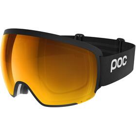 POC Orb Clarity Maschera, nero/arancione